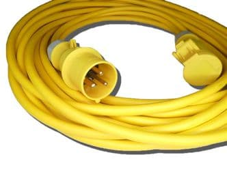 25m 110v 16amp extension lead (4mm cable) IP44 rated